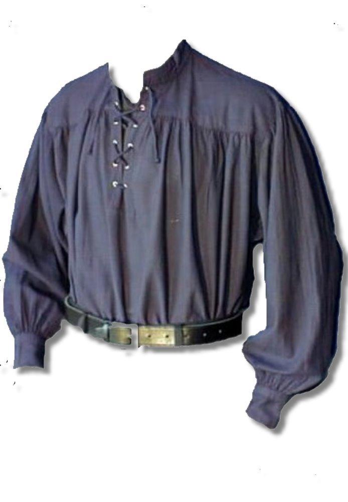Inter Moden Mittelalter Markthemd - Herren Osgur XXXL dkl blau B00FARLRE6 Kostüme für Erwachsene In hohem Grade geschätzt und weit Grünrautes herein und heraus | Professionelles Design