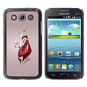 EJOY---Cubierta de la caja de protección la piel dura para el / Samsung Galaxy Win I8550 / --Ratón y Hombre