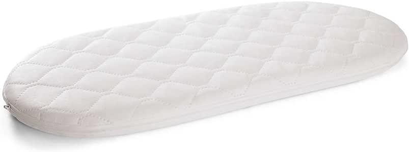 ES UN BEBÉ Deluxe – Colchón acolchado para moisés hipoalergénico y transpirable (74 x 28 x 3,5 cm): Amazon.es: Bebé