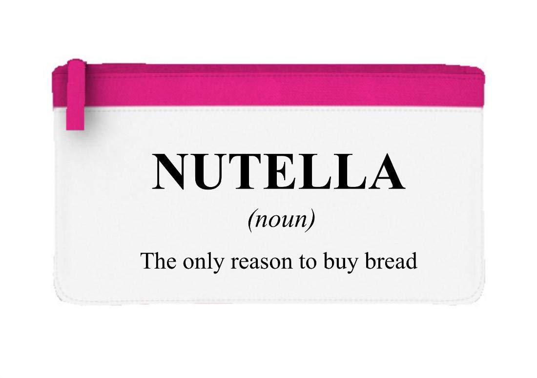 Nutella Definición divertida alternativa no en el estuche de lápices de diccionario o bolsa de embrague, color rosa talla única: Amazon.es: Oficina y ...