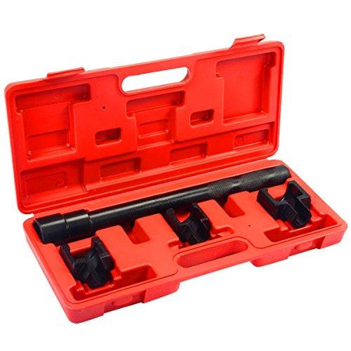 Goplus Inner Tie Rod Removal Installation Tool Set Mechanics Dual Tie Rod Adjusting Tool ()