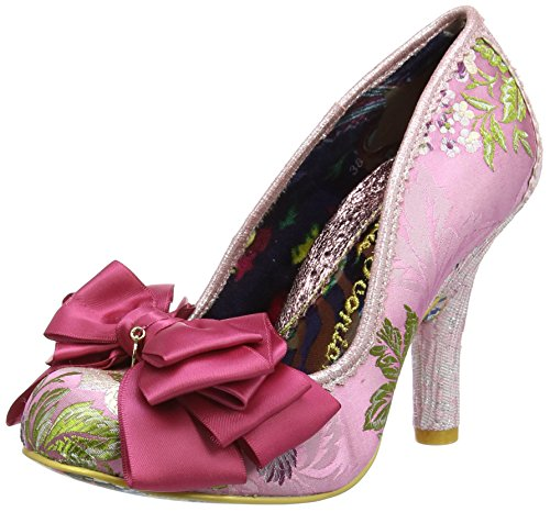 596508e74b Irregular Heels Women's Ascot Pink Pink Multi Closed Choice Toe wqUvwZF