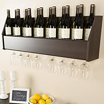 Wall Mounted Wine Racks Design Shalees Diner Decor Ideas