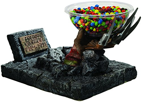 Rubie's Costume 68598 Nightmare on Elm Street Freddy Candy Bowl Holder Statue ()