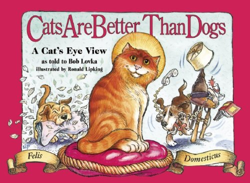 Cats Are Better Than Dogs: From a Cat's Eye - Eye Cats View