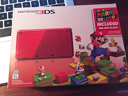 Amazon.com: Nintendo 3DS with Super Mario 3D Land - Flame ...