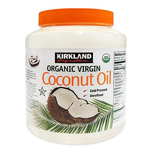 Kirkland Organic Virgin Coconut Oil - 2.38Kg Tub by Kirkland Signature