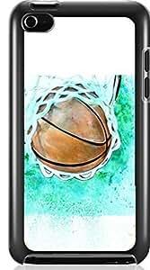 Basketball Sport Hard Case for Apple iPod touch 4 4G 4TH ( Sugar Skull ) Kimberly Kurzendoerfer