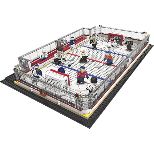 OYO Sports NHL Hockey Rink Building Block Set — 582 Pieces by Oyo Sportstoys
