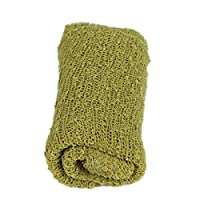 Tinksky Long Ripple Wrap, DIY Newborn Baby Photography Wrap-BAby Photo Props Favors (Grass Green) by Tinksky