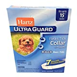 Dog Flea Treatment Collar - Flea Tick Collar for Puppies Water Resistant 7 Months Protection Fits Necks Up to 15 Inches
