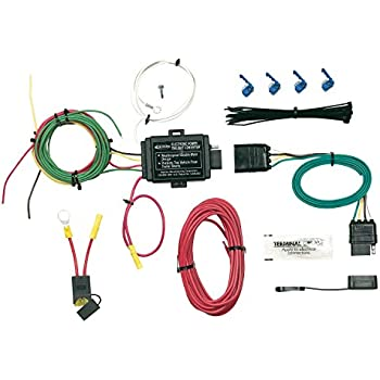 amazon com hopkins 42455 plug in simple vehicle wiring kit on hopkins wiring diagram