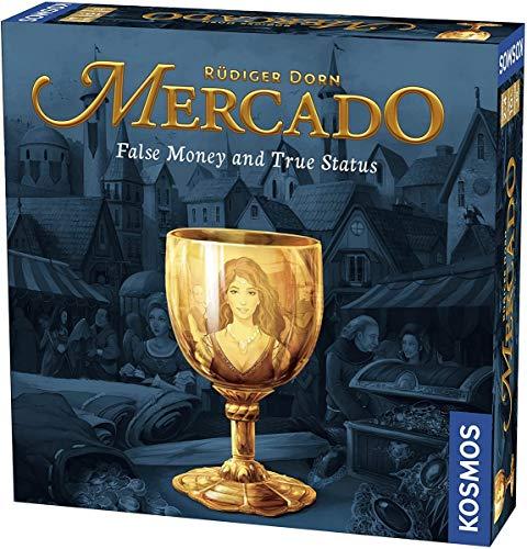 Thames & Kosmos Mercado A Family Board Game 2-4 Player | 30 Mins | Bidding | Highly Interactive
