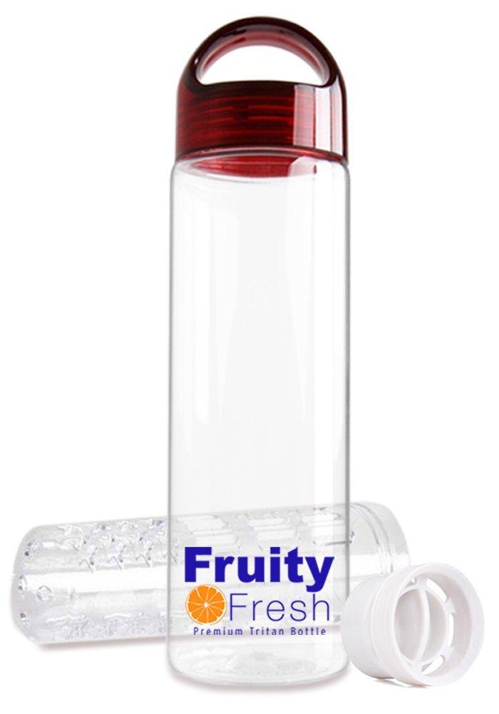 Amazon.com : Prima Fruta Infuser Agua Botella By - Crear Naturalmente sano Flavored Water - 24 oz BPA libre, hecho con Tritan plástico y prueba de fugas ...