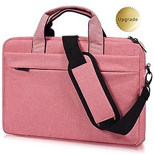 17-17.3 Inch Laptop Shoulder Bag, CASEBUY Waterproof Shockproof Laptop Case for HP ENVY 17 17t, Acer Predator 17, Lenovo…