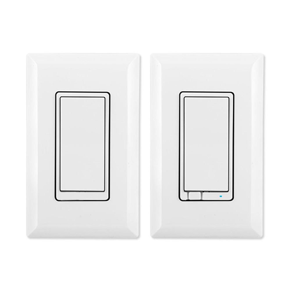GE 45613 Z-Wave Wireless Lighting Control Three-Way Dimmer Kit, Works with Alexa