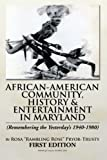 "African-American Community, History and Entertainment in Maryland, Rosa ""Rambling Rose"" Pryor, 1483612333"