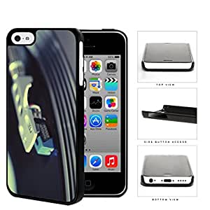 Vinyl Gramophone Record On Needle Hard Plastic Snap On Cell Phone Case Apple iPhone 5c by supermalls