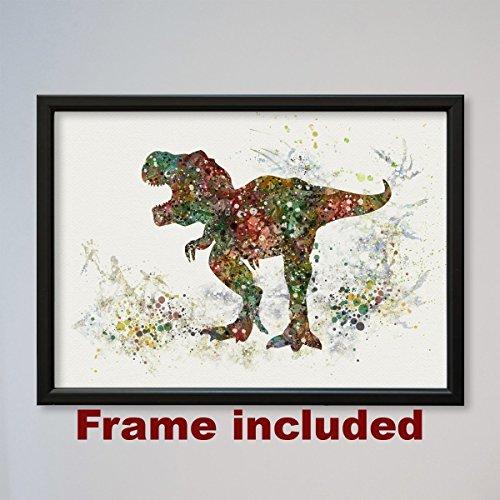 Tyrannosaurus Rex Framed Poster Dinosaur T-rex
