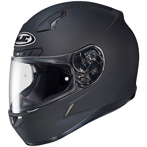 HJC Solid Mens CL-17 Full Face Motorcycle Helmet - Matte Black/Large ()