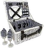 Picnic Basket for 2 Person Picnic Hamper Set
