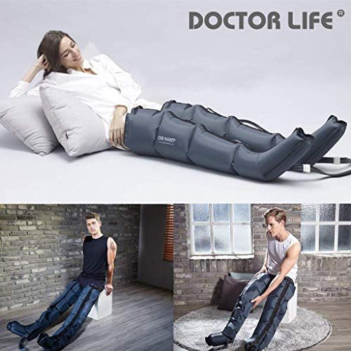 Air Compression System by DSMAREF : Sequential Compression Device, Compression Pump, Recovery Boots, Blood Circulation Machine for Legs, Leg Massager. (Size : XL) (Ice Compression Machine)
