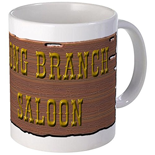 CafePress - Long Branch Saloon Mug - Unique Coffee Mug, Coffee Cup]()