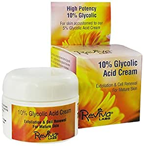 Reviva Labs 10% Glycolic Acid Cream -- 1.5 oz