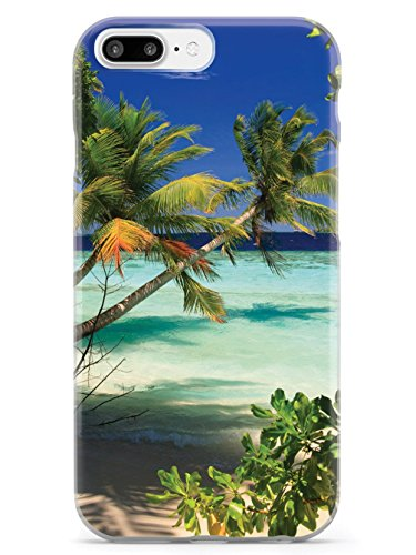 Inspired Cases Palm Trees and Beach Scene Case - Apple iPhone 8 Plus -