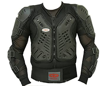 Best Motorcycle Armor >> Amazon Com Ce Approved Full Body Armor Motorcycle Jacket L