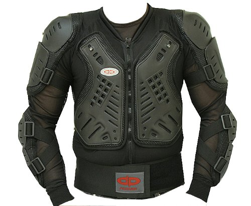 CE Approved Full Body Armor Motorcycle Jacket- (4XL) (Jacket Supermoto)