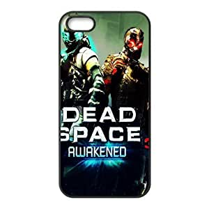 DIY Design 7 Game Dead Space 3 Print Black Case With Hard Shell Cover for Apple iPhone 5S