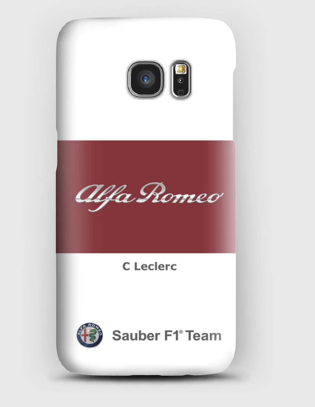 Alfa Romeo C Leclerc coque pour Samsung S6, S7, S8, S9, A3, A5, A7,A8, J3, J5, Note 4, 5, 8,9, Grand prime,