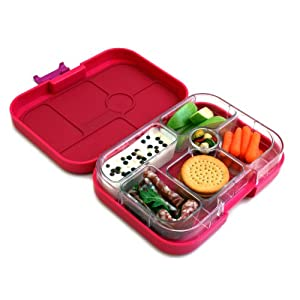 yumbox leakproof bento lunch box container framboise pink. Black Bedroom Furniture Sets. Home Design Ideas