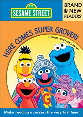 Amazon com: Here Comes Super Grover!: Brand New Readers
