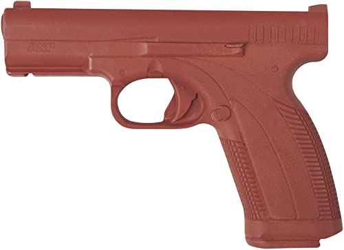 ASP Red Gun Replica for Training and Practice with Martial Arts, Defense, Props, Tactical, Law Enforcement, and Military