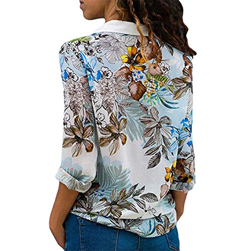 Stampa fashion Bianca Autunno Primavera Maglie Moda Camicie Maglietta Donna Patchwork Casual Shirts Top Lunga Cime Simple Manica Bluse Quotidiani A Xqgdg