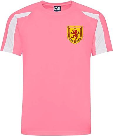 Camisa de fútbol para hombre, personalizable, estilo Escocia: Amazon.es: Ropa y accesorios