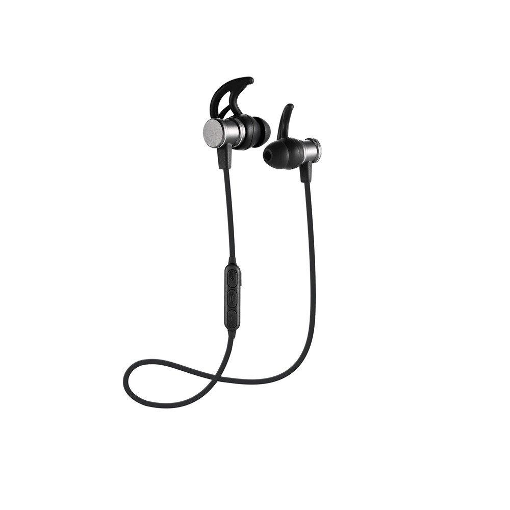Janly V4.1 Mini-freisprecheinrichtung Wireless Magnetische Musik Headset Telefon Neckband Stereo Sport Kopfh/örer Aktive Noise Wireless Bluetooth kopfh/örer Gold