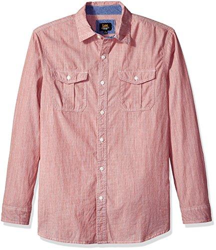 LEE李长袖水洗男士衬衫, 现仅售$12.39