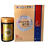 Korean Red Ginseng 6 years Gold Extract, Saponin, Panax, Premium Quality, Made in Korea, 240 gram