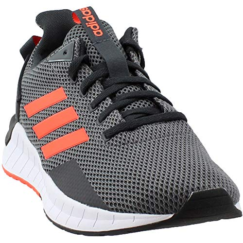 adidas Men's Questar Ride Running Shoe, Carbon/Solar Red/Grey Four, 10 M US (Watch Adidas Men)