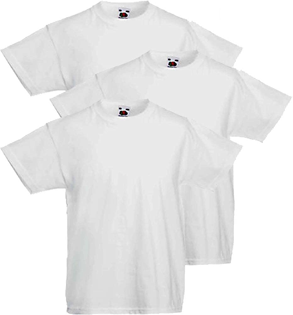 Fruit of the Loom 3 T-Shirt Bambino Valueweight