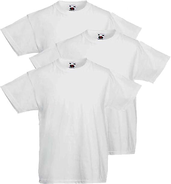 78eca5124d Fruit of the Loom 3 T-Shirt Bambino Valueweight