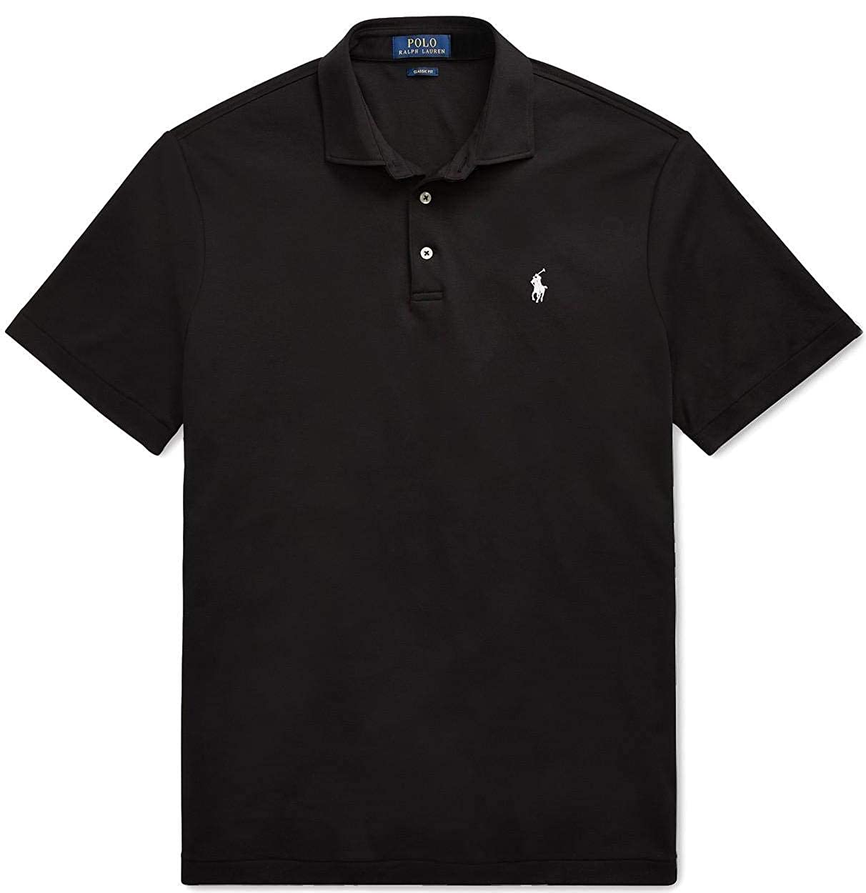 Polo Ralph Lauren Hombres de Media Fit Polo de Enclavamiento Shirt ...