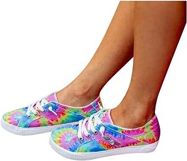 Womens Tie-Dye Sneakers, Slip On