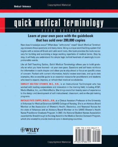 Quick Medical Terminology: A Self-Teaching Guide - medicalbooks.filipinodoctors.org