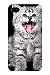 Freshmilk High-end Case Cover Protector For Iphone 4/4s(Animal Cat)