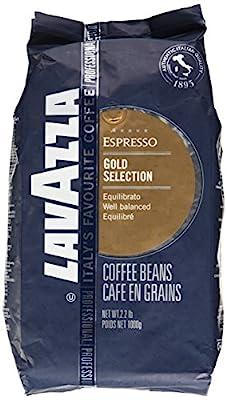 Lavazza Gold Selection Whole Bean Espresso, 2.2-Pound Bag