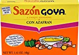 Goya Foods Sazon Azafran Seasoning, 1.41 Ounce